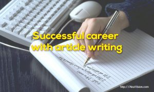 successful career on article writing