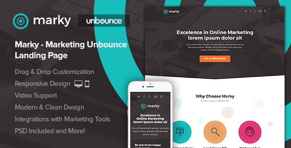 Marketing Unbounce Landing Page