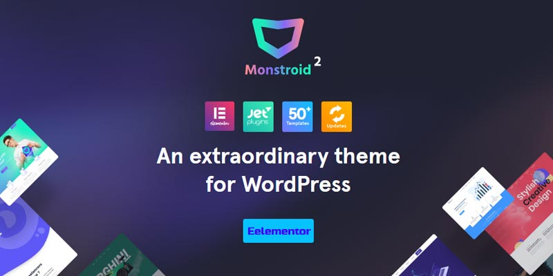 Monstroid2 Review: Outstanding Elementor WordPress Theme